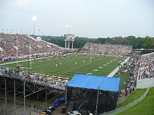 Fawcett Stadium before the start of the 2006 Pro Football Hall of Fame Game