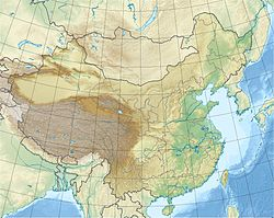 1985 Wuqia earthquake is located in China