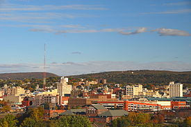 Skyline of Downtown Scranton.