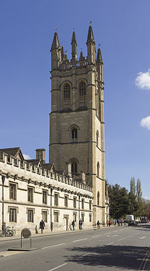 Magdalen College Tower
