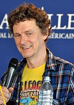Photo of Michel Gondry at the 2012 Deauville Film Festival.