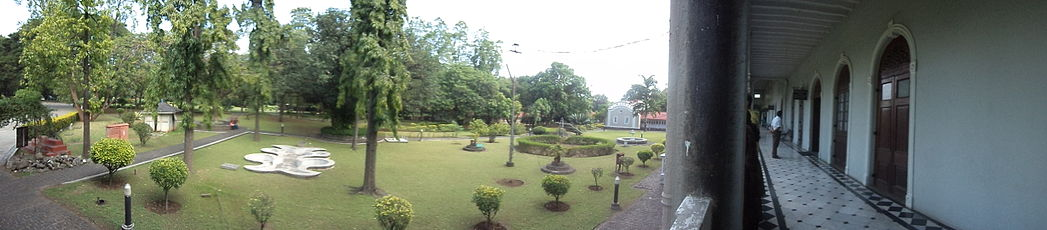 Panoramic view Aga Khan Palace