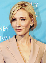 Photo of Cate Blanchett attending the 2011 Sydney Film Festival.