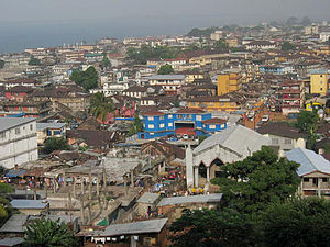 View of Freetown