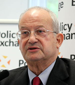 Lord Sainsbury launching his new book 'Progressive Capitalism' at Policy Exchange.jpg