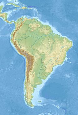 1960 Valdivia earthquake is located in South America