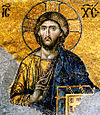 Icon of Jesus Christ from the Hagia Sophia.