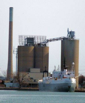 Stephen B. Roman moored at the Cement Works on Cherry Street, in the Keating Channel.jpg