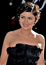 Audrey Tautou in Cannes Festival in 2013.
