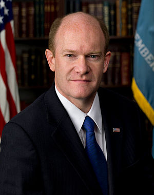 Chris Coons, official portrait, 112th Congress.jpg