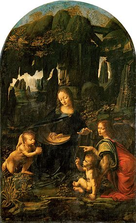 Leonardo da Vinci - Virgin of the Rocks (Louvre).jpg