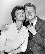 Photo of Mike Nichols and Elaine May.
