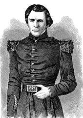 Engraving of young Grant in uniform