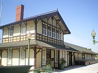 Southern Pacific Railroad Depot, Whittier.JPG