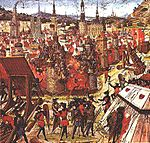 The capture of Jerusalem marked the First Crusade's success.