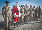 BG Volesky visits the North Pole.