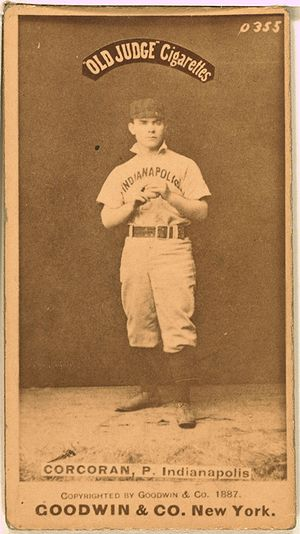 Larry Corcoran baseball card.jpg