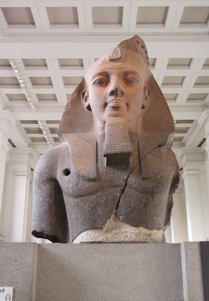File:Statue of Ramesses II at the British Museum.jpg