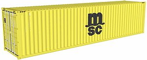 MSC 40 foot container