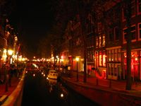 De Wallen neighborhood of Amsterdam