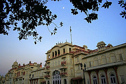 Moti Bagh Palace, Patiala now houses the National Institute of Sport