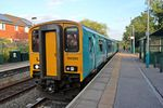 Arriva Trains Wales Class 150, 150250, Hope railway station (geograph 4032749).jpg