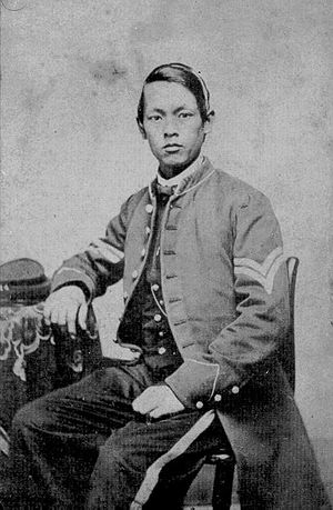 Joseph Pierce, soldier who served in North during American Civil War.