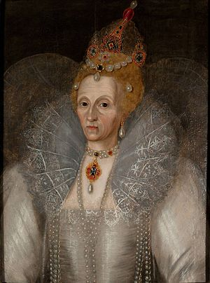 Elizabeth I in later years