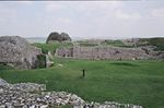 Remains of Old Sarum Castle and Cathedral