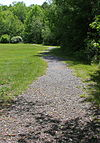 Walking path in the Wright Township Municipal Park.JPG