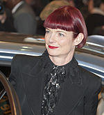 Photo of Sandy Powell at the 2011 Berlin International Film Festival.