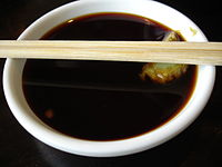 Soy sauce with wasabi.jpg
