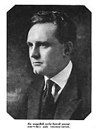 Black-and-white photo of Frank Borzage, 1920.