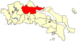 Location of Phthiotis Province