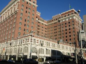 Kirtland Cutter's renaissance revival style Davenport Hotel, widely considered his magnus opus