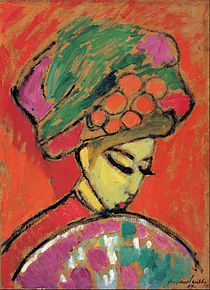Alexei Jawlensky - Young Girl with a Flowered Hat, 1910 - Google Art Project.jpg