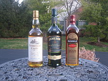 Irish whiskeys