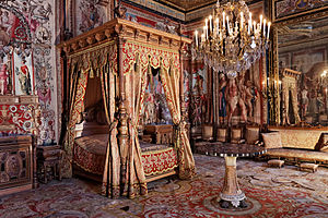 Bedroom of the Queen-Mother Anne of Austria (Mid-17th century)