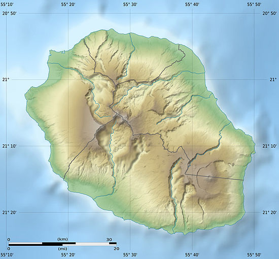 La Réunion department relief location map.jpg