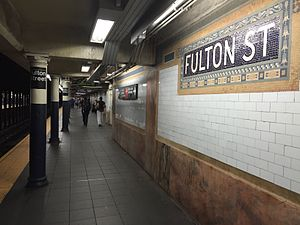 Fulton Street - Lexington Avenue Platform.jpg