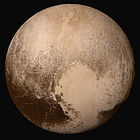 Pluto seen by New Horizons on 13 July 2015