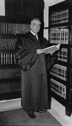 Chief Justice Fred M. Vinson