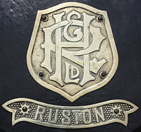Early R & H Company Badge