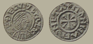 Coin of King Æthelwulf