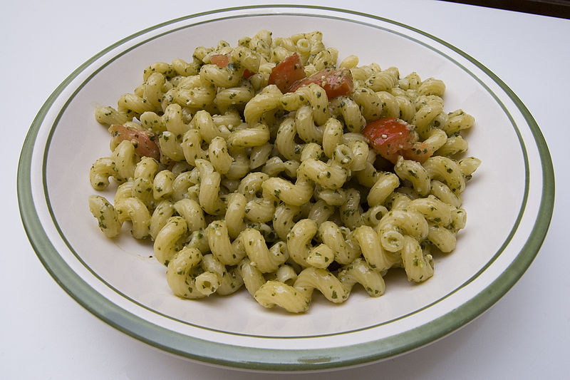 File:Pasta with pesto.jpg