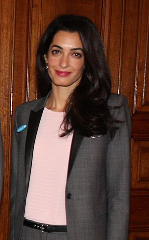 Amal Clooney in May 2014