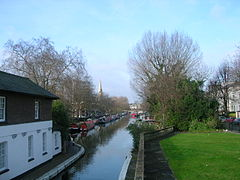 Grand Union Canal at Little Venice.JPG