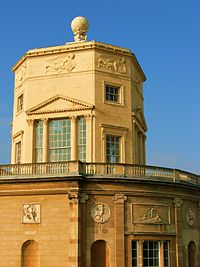 The Radcliffe Observatory, Green Templeton College, Oxford.