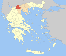 Pella within Greece