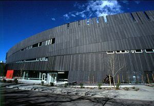 Exterior view of the Nevada Museum of Art